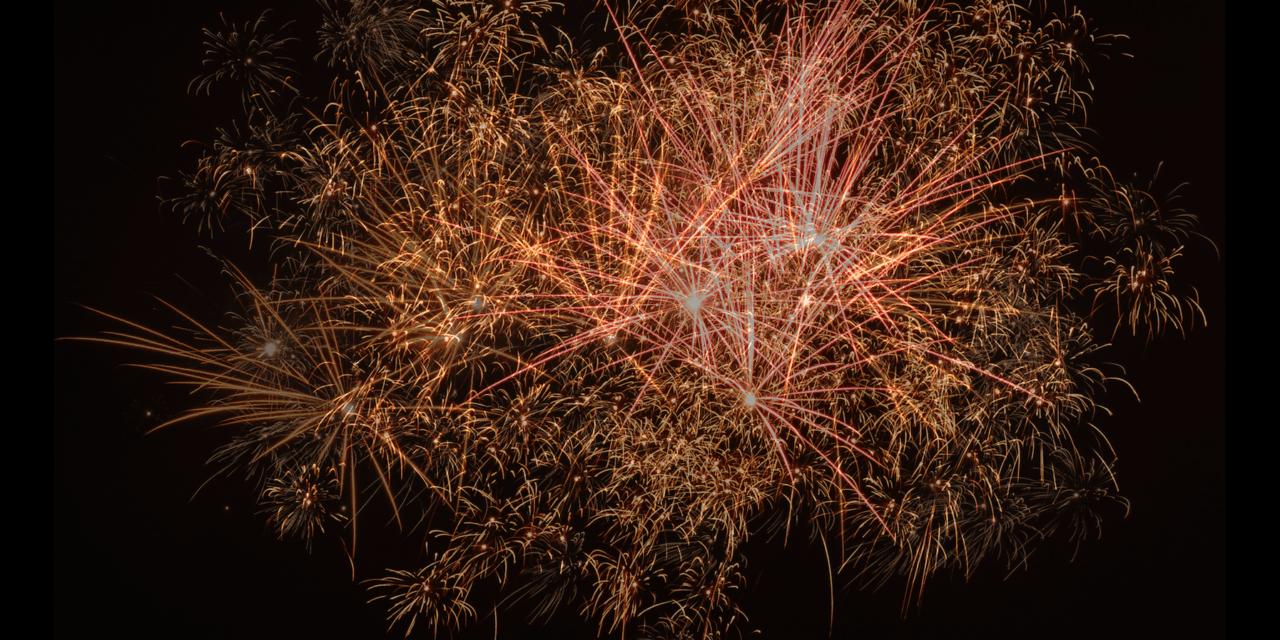 Snap, Crackle, BOOM!– the joys of fireworks