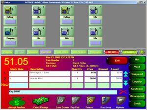 Info net c store commander POS