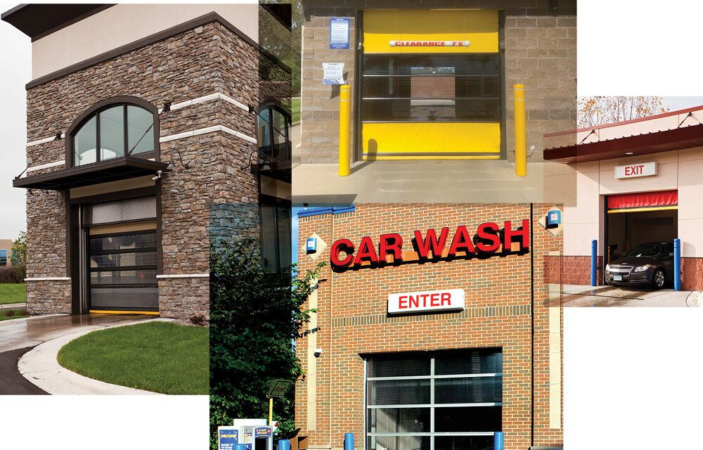 Doors to Consider When Building New or Upgrading Your Current Carwash